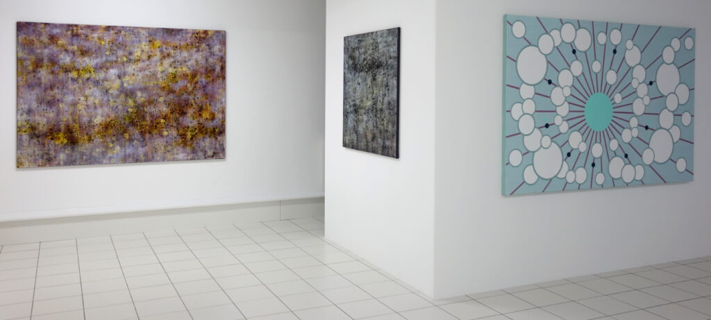 Vera Hilger (2x links), Ton Slits (rechts)